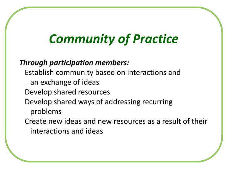 Community of Practice