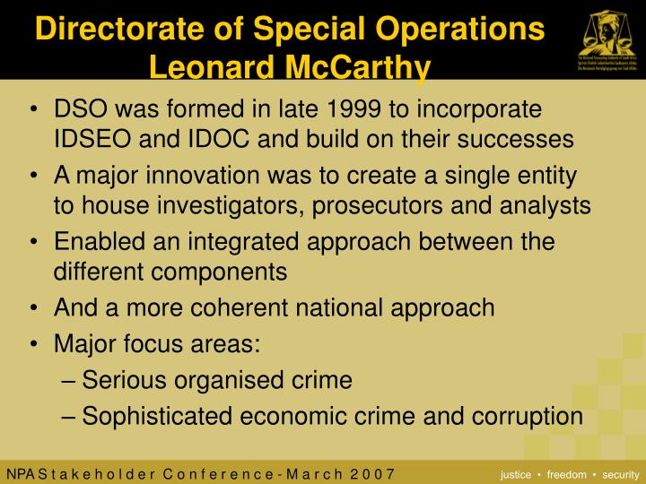 Directorate of Special Operations