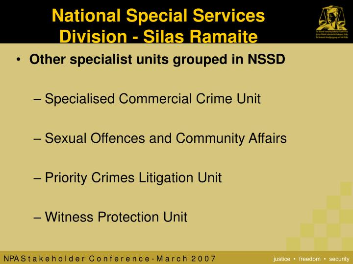 National Special Services
