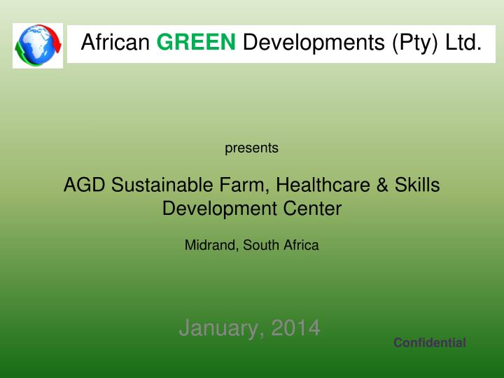 Presents agd sustainable farm healthcare skills development center midrand south africa