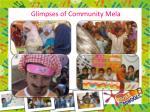 glimpses of community mela