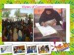views of community