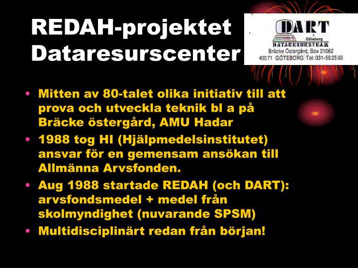 REDAH-projektet