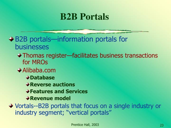 B2B Portals