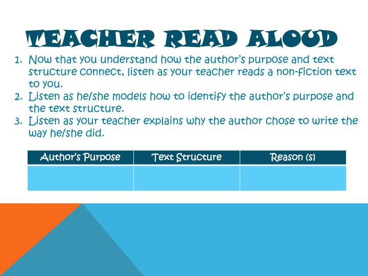 Teacher Read Aloud
