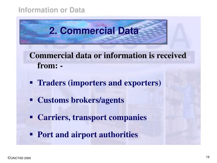 2. Commercial Data