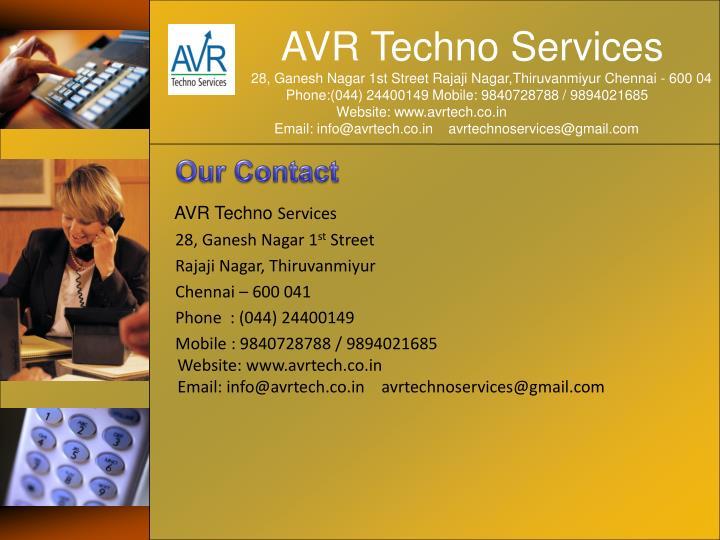 AVR Techno Services