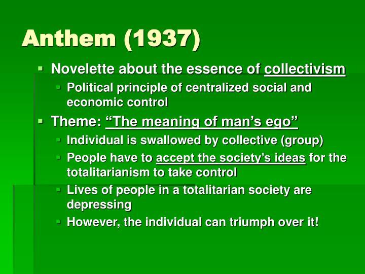 Anthem (1937)