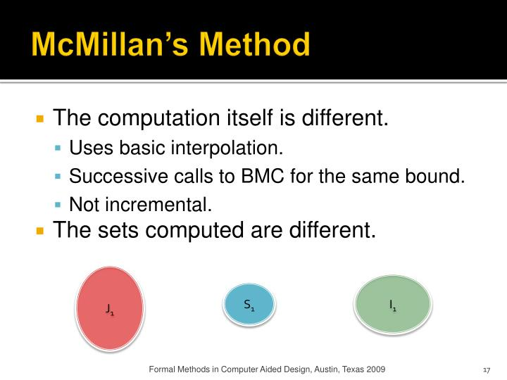 McMillan's Method
