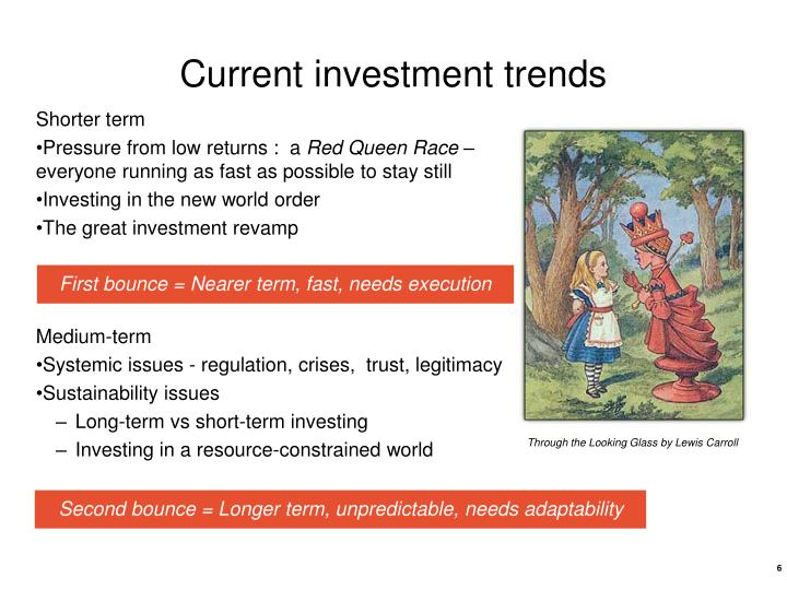 Current investment trends