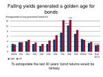 falling yields generated a golden age for bonds