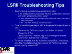 lsrii troubleshooting tips6