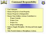 command responsibility
