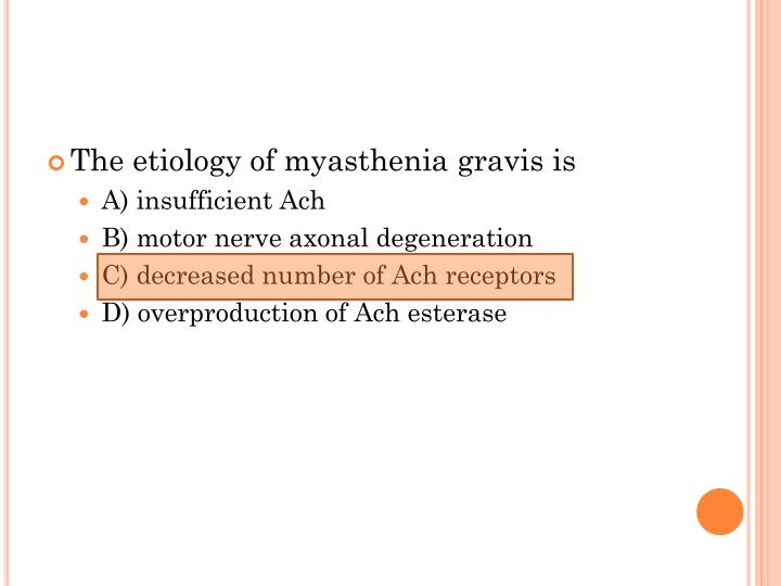 The etiology of myasthenia gravis is