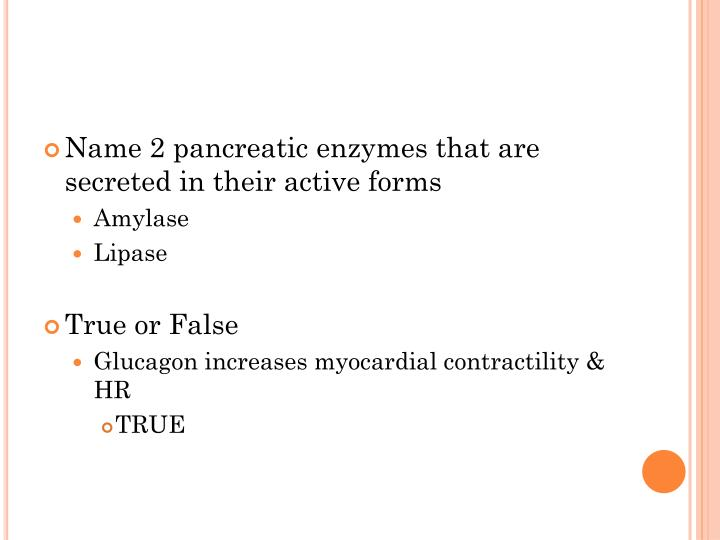 Name 2 pancreatic enzymes that are secreted in their active forms