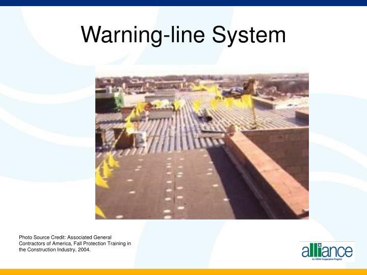 Warning-line System