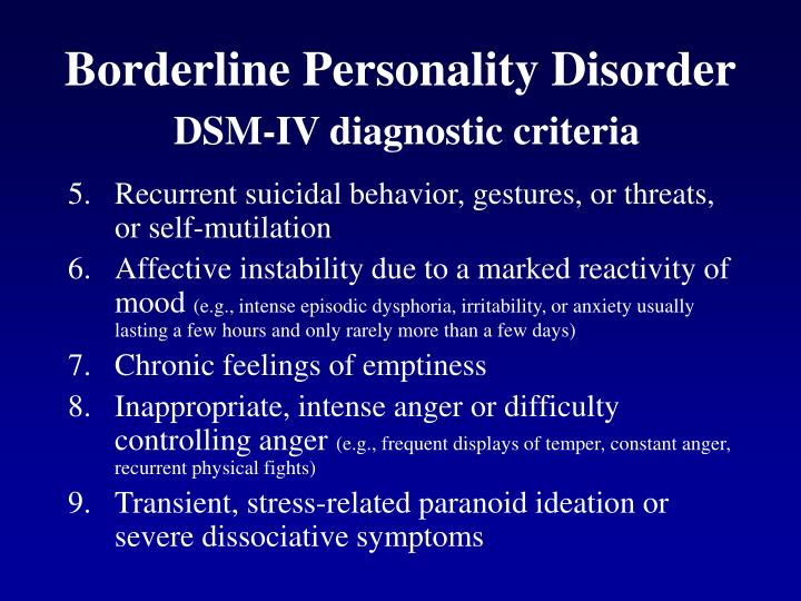 difficulty diagnosing borderline personality disorder in 16 year olds essay Difficulty dianosing 16 year olds with borderline personality disorder introduction: for many years, borderline personality disorder was considered a mental illness only associated with adults above age 18, however in recent years mental health professionals have begun to consider the possibility of borderline.
