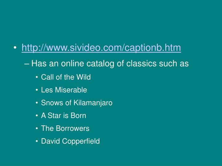 http://www.sivideo.com/captionb.htm