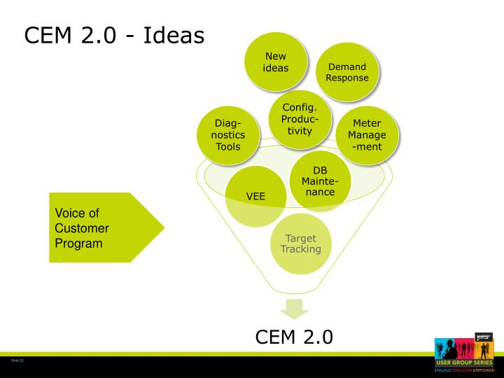 CEM 2.0 - Ideas