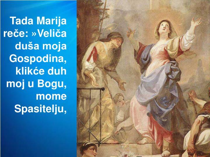 Tada Marija re