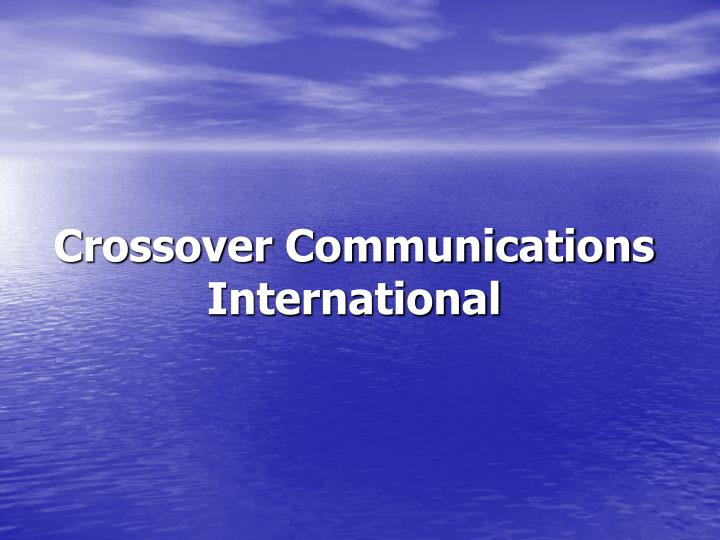 Crossover Communications