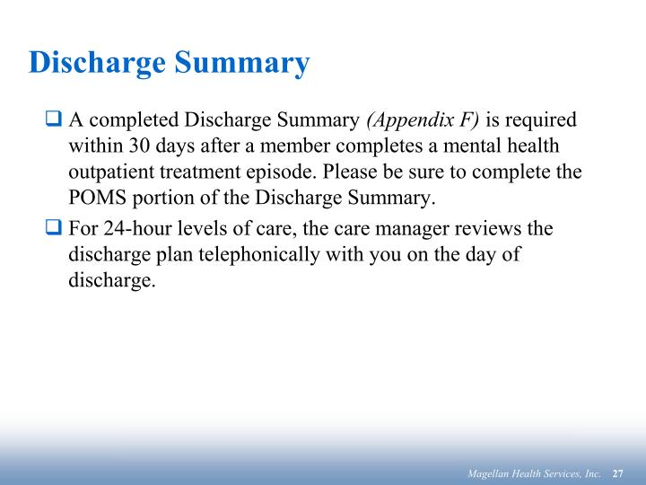 Discharge Summary