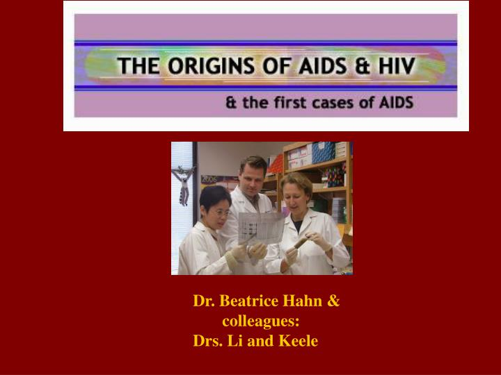 Dr. Beatrice Hahn &