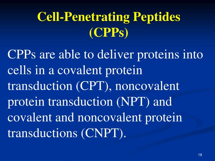 Cell-Penetrating Peptides