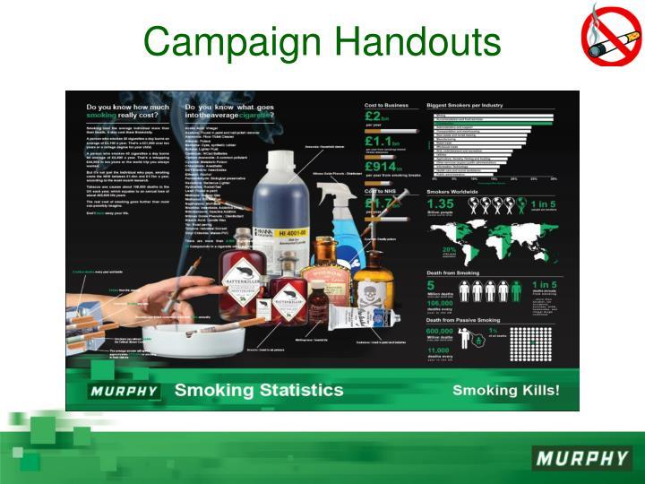 Campaign Handouts