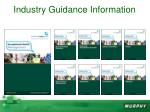 industry guidance information