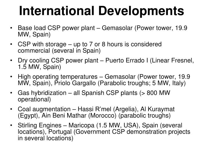 Base load CSP power plant –