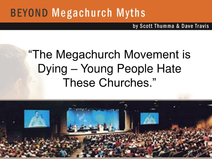"""The Megachurch Movement is Dying – Young People Hate These Churches."""