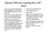 bytown officials meeting nov 18 th 20101
