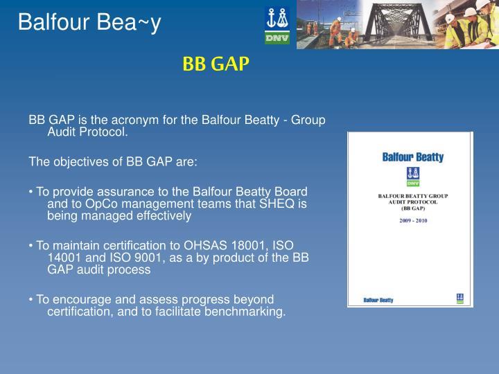 BB GAP
