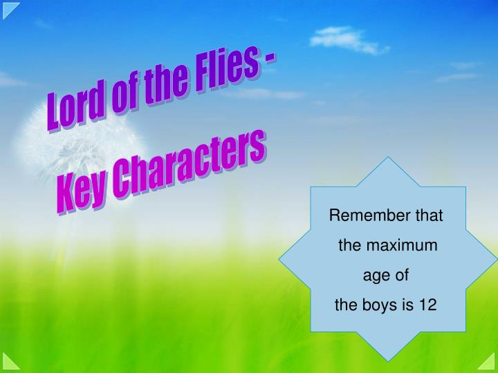 Lord of the Flies -