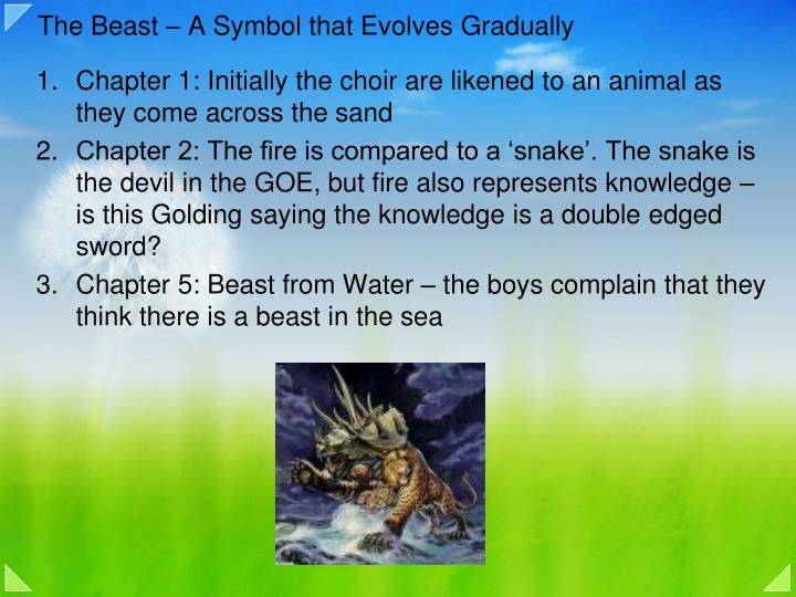 The Beast – A Symbol that Evolves Gradually
