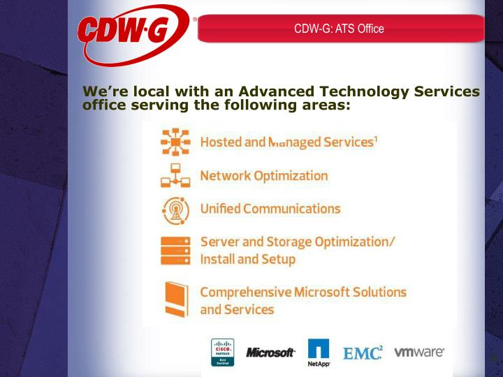 CDW-G: ATS Office