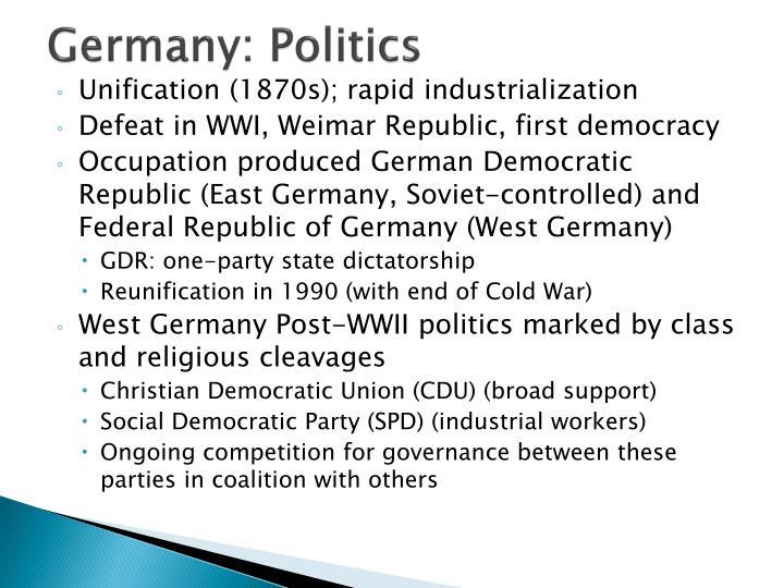 Germany: Politics