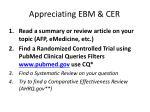 appreciating ebm cer1