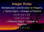 integer rules2