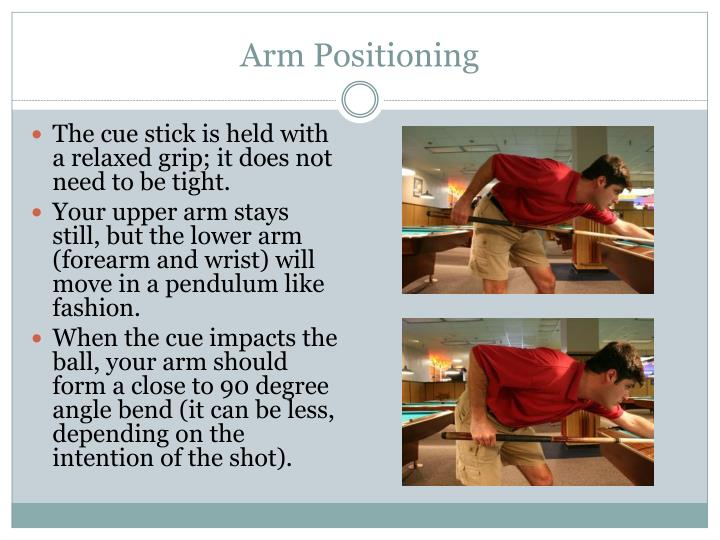 Arm Positioning