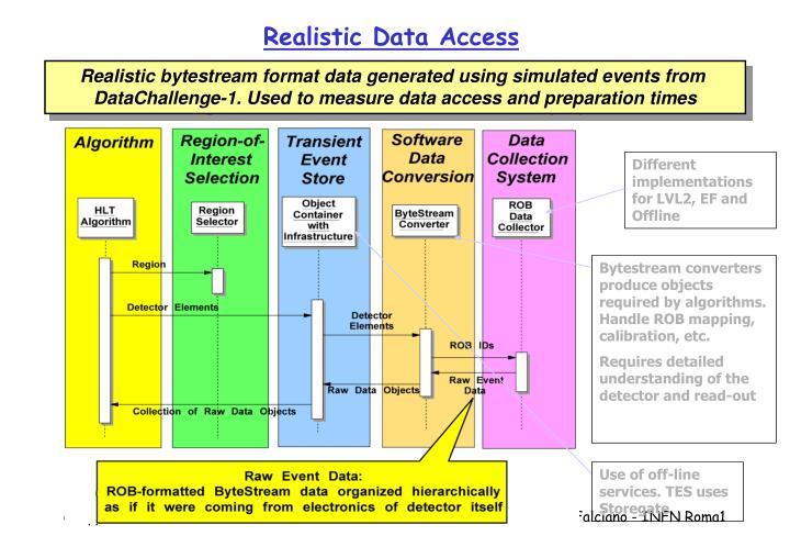 Realistic Data Access