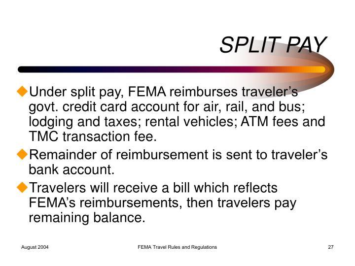 SPLIT PAY