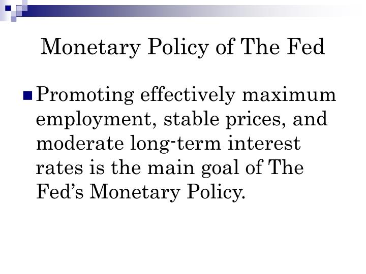 PPT - The ECB vs. The Fed PowerPoint Presentation - ID:6707702