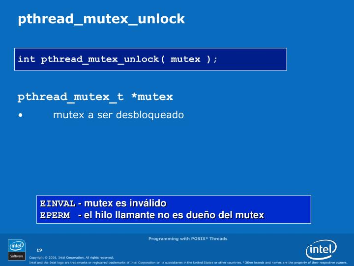 pthread_mutex_unlock