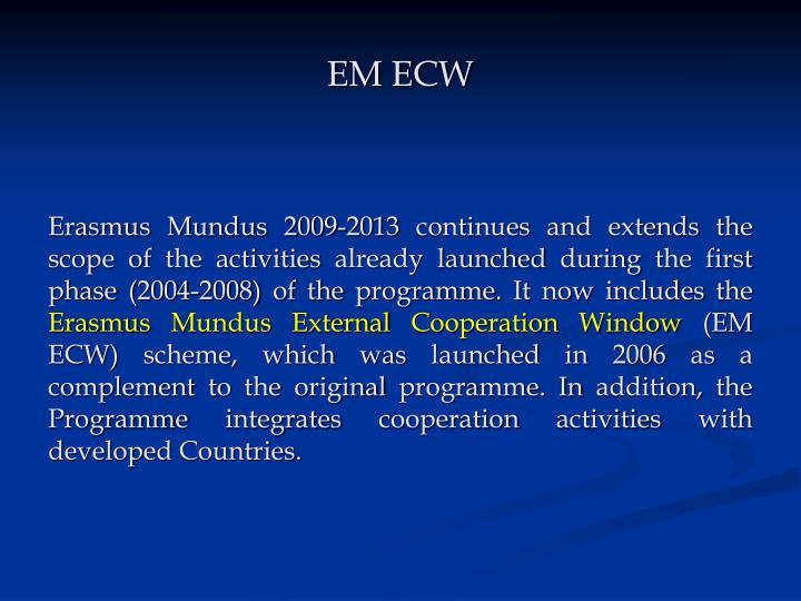EM ECW