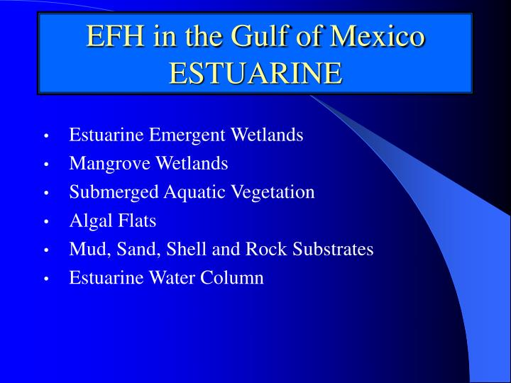 Estuarine Emergent Wetlands