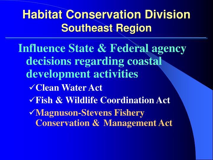Habitat Conservation Division