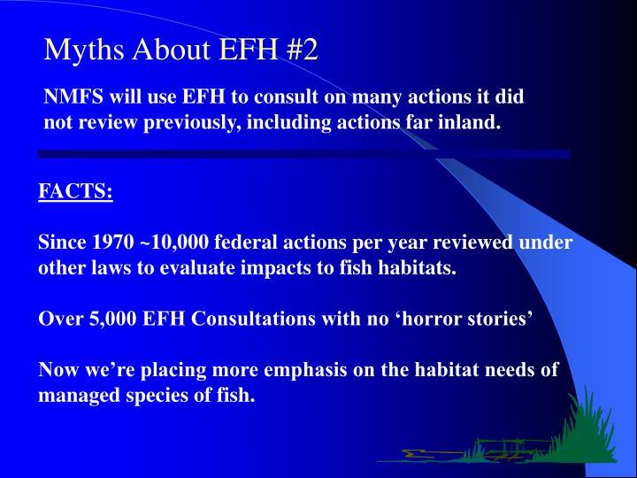 Myths About EFH #2