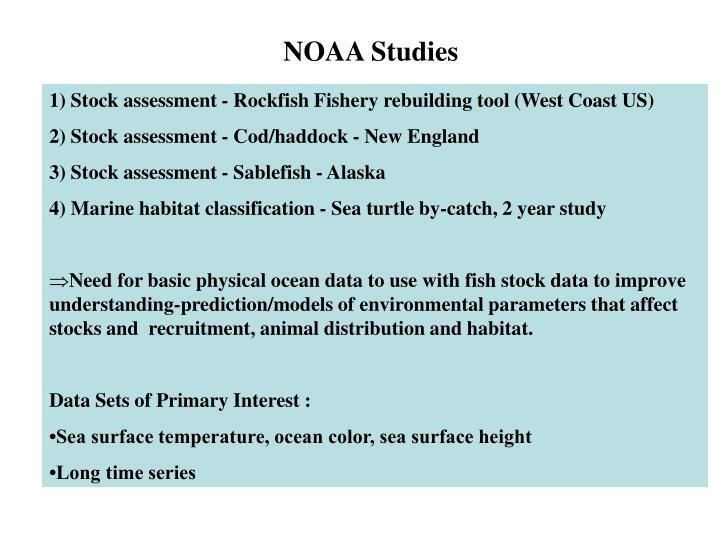 NOAA Studies